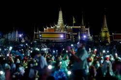 Thai republic hashtag trends as frustration surges among protesters