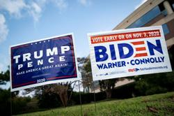 Biden leads Trump nationally, but race much tighter in key states