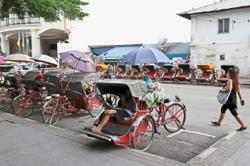 Trishaw riders plead for more subsidy