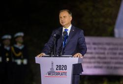 Poland's president says migrants should stay close to their countries