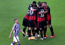 Hertha Berlin humbled at home by Eintracht