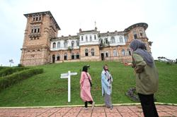 Kellie's Castle in Perak braces itself for a spooky weekend