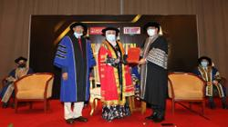 Melaka CM conferred honorary doctorate by local higher learning institution