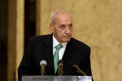 Lebanon's parliament speaker says still sticks to French initiative