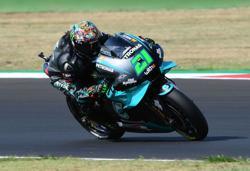 Morbidelli snatches maiden pole as Yamaha dominate in Barcelona