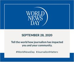 World News Day: What does journalism mean to you in 2020?