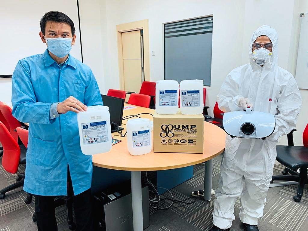 New organic disinfectant created
