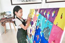 Art exhibition to showcase 90 paintings