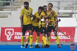 Perak break Terengganu hearts in third Razak Cup final