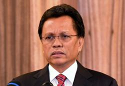 Rollercoaster of moods outside Shafie's house as results came in throughout election night