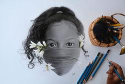 Orang Asli artist pencils a beautiful world of portraits inspired by her roots