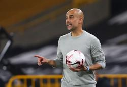 Man City's Guardiola says his players are not machines as injuries mount