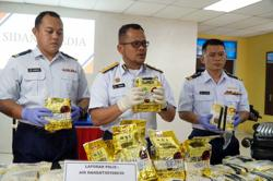 Two suspects jump into rough seas near Langkawi off boat with drugs worth RM11.3mil
