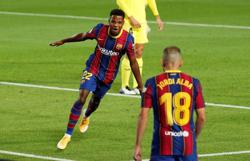 Ansu Fati grateful for Messi's advice after leading Barca to victory
