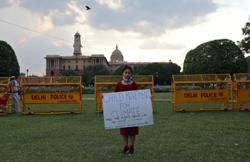 'Planet is dying', India's eight-year-old climate crusader warns