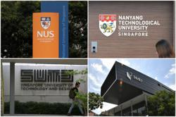 Senior leaders at Singapore universities take pay cut as students affected by crisis get financial help