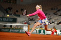 Kvitova very glad to see spectators at Roland Garros