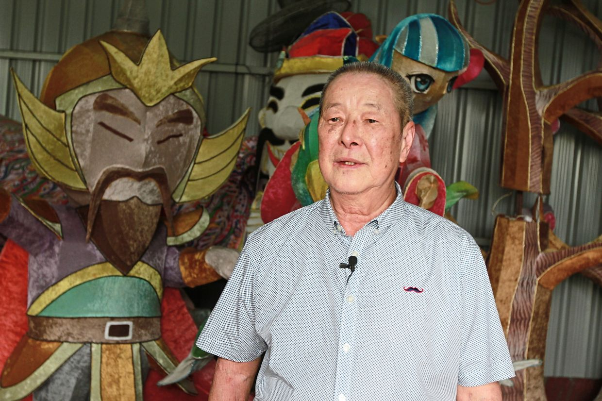 Liew, president of the Malaysia Lantern Art Association, says lanterns are very much a part of Chinese culture.