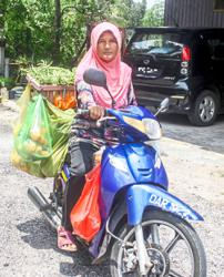 Mobile food sales helped pay for her kids' education