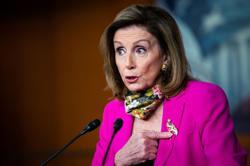 Pelosi says Trump's reported debts are a national security issue
