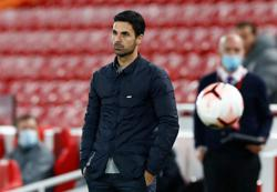 Arsenal a long way away from Liverpool's standard - Arteta