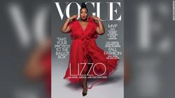 Singer Lizzo is proud to be the 'first big black woman' on cover of 'Vogue'