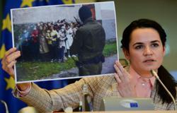 Belarus' Tsikhanouskaya to tell Macron she wants new elections in 2020