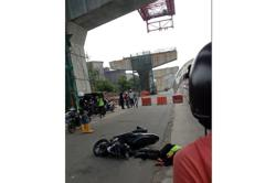 Police: Viral video of motorcyclist killed by falling debris is from Jakarta, not Klang