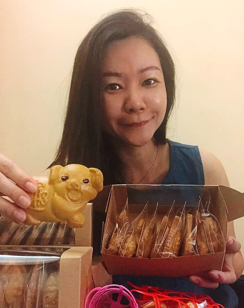 Tan says she prefers making her own traditional mooncakes at home as personalised gifts for family and friends.