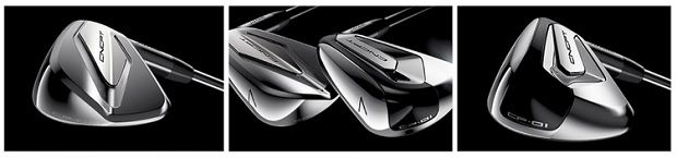 Titleist's new CNCPT irons are crafted with a forged super-metal L-face insert.