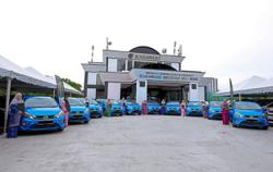 Nurses gifted with car for service to Johor royal family