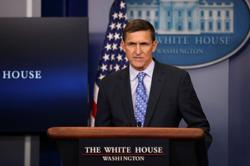 Flynn attorney tells U.S. court she discussed criminal case with Trump