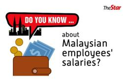 Do you know...about Malaysian employees' salaries?