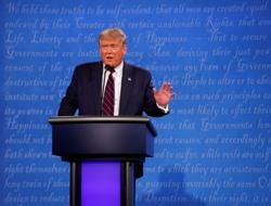 Trump deflects debate question about whether he condemns white supremacists