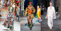 Fashion in pictures: Milan Fashion Week signals happier and sunnier times