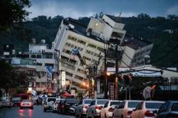 Earthquake off Taiwan's east coast shakes Taipei