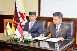 Brunei, Singapore strengthen ties in social development initiatives