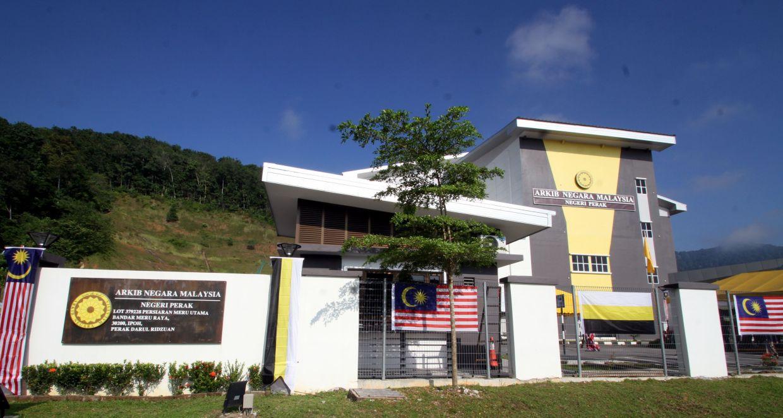The new Perak state Arkib Negara Malaysia.