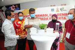 MPSJ distributes planting kits to encourage urban farming