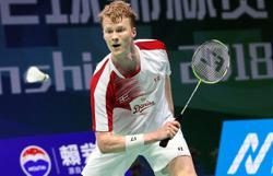 Boost for Antonsen after Denmark Open draw