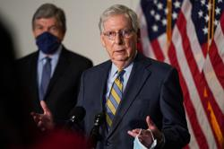 U.S. Senate's McConnell condemns white supremacists 'in the strongest possible way'