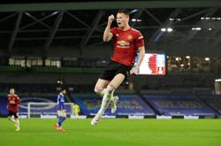 Man United beat Brighton again, Calvert-Lewin hat-trick