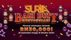 RM30,000 up for grabs by tuning in to Suria