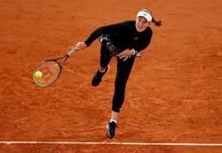 Ostapenko crushes second seed Pliskova in Paris