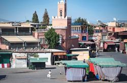 Marrakesh, once a bustling city, struggles to survive