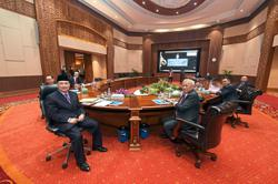 Sabah govt holds first Cabinet meeting