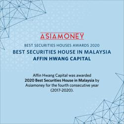 Asiamoney names Affin Hwang Capital 'Best Securities House 2020'