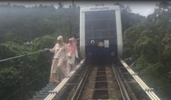 Around 150 stranded after Penang Hill train broke down