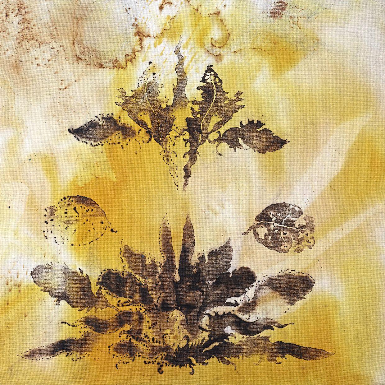 Haafiz's 'Bunga Gersang V' (pyrography print, 2020). Photo: Core Design Gallery