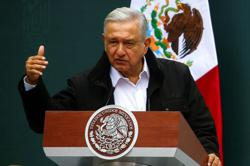Thousands flock to Mexico City protest against President Lopez Obrador